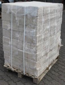 eine Palette RUF Briketts a ca 960 kg